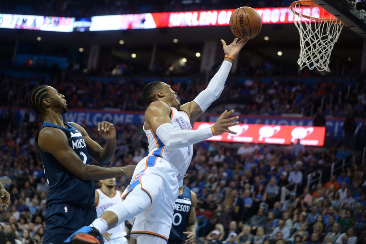 Three-Man Weave: Andrew Wiggins, Russell Westbrook Duel In Thriller
